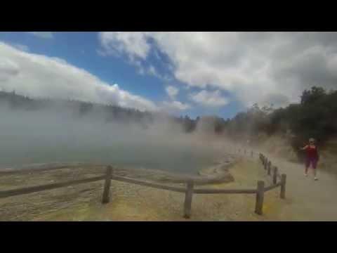Wai O Tapu NZ Trip