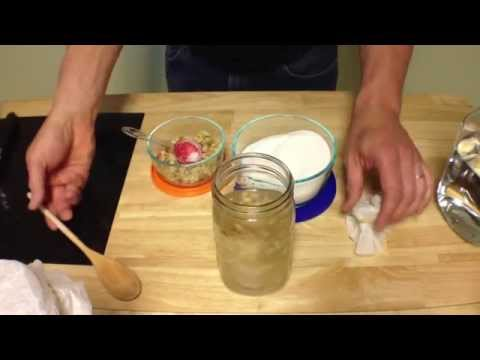 How To Make Ginger Bug