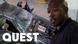 Absolute Nightmare Stripping An Old Porsche 928 | Classic Car Rescue
