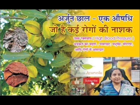 अर्जुन छाल - एक औषधि जो है कई रोगों की नाशक I Benefits of Arjuna Chal  n Hindi By Dr. Himani Pandey
