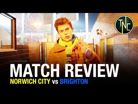 NORWICH 2-0 BRIGHTON - PRITCHARD IS MAGIC - MATCH REVIEW