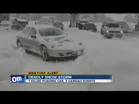 Deadly snow storm, National Guard arrives in Erie County