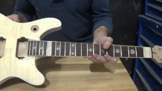 The Guitar Kit Build from Guitar Fetish Part 8 | Dressing Fret Ends