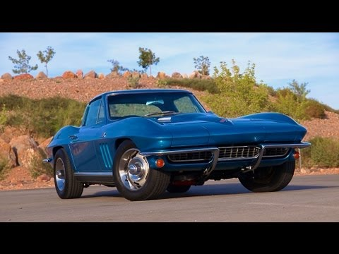 1966 Chevrolet Corvette 427 Coupe-Test Drive - Viva Las Vegas Autos