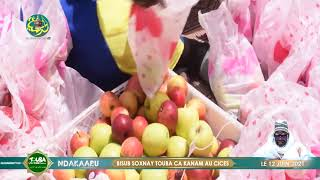 La réaction de Soxna Maam Isseu Mbacké Ahlou Café | Bissub Soxna'y Touba Ça Kanam au CICES, (Dakar)
