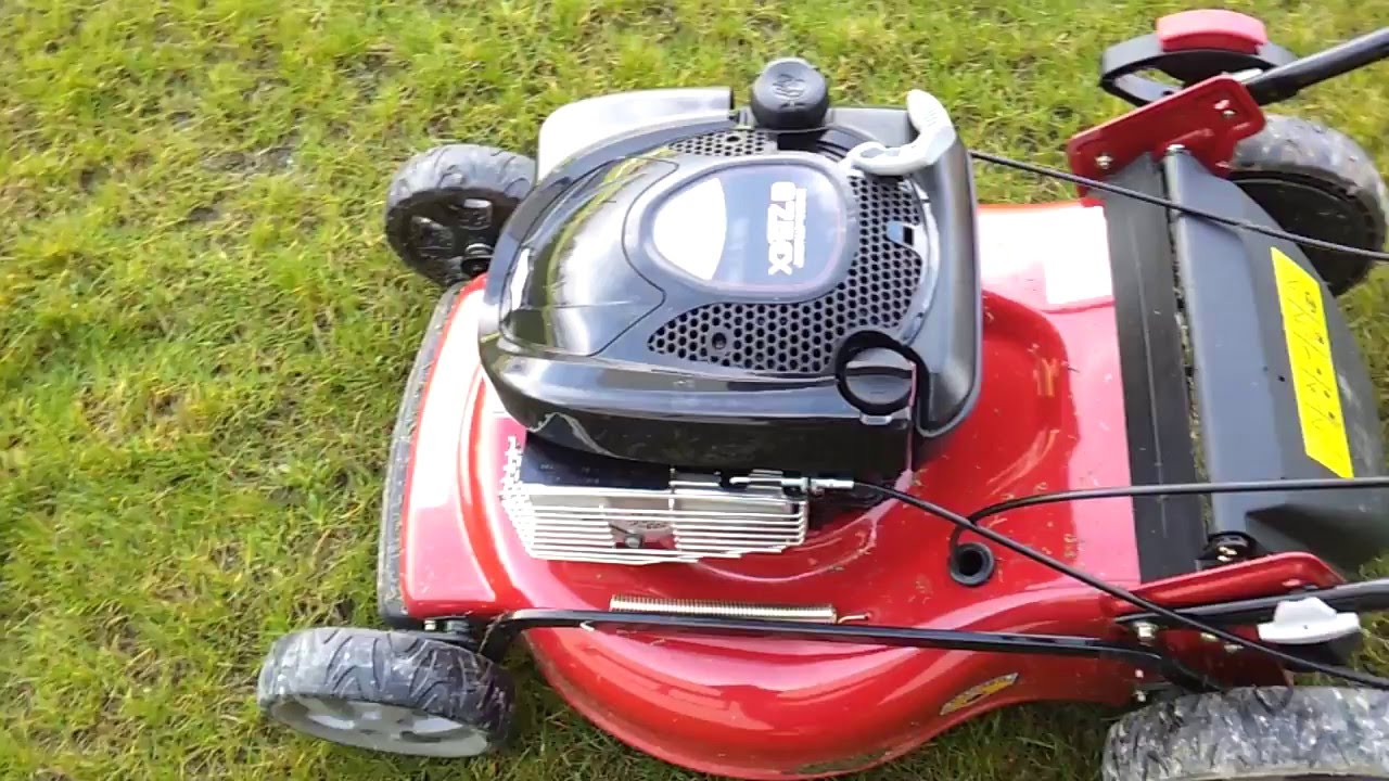 How To Start Mower Briggs Stratton Readystart U00ae Engine