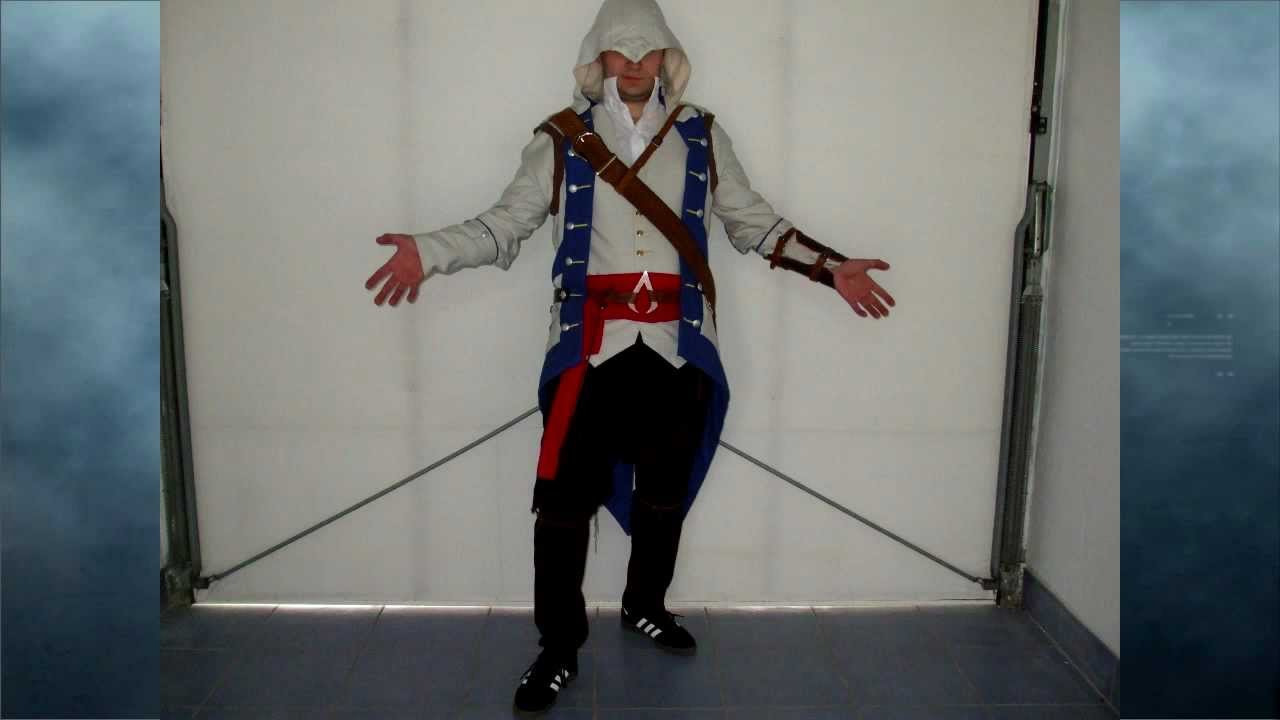 Connor Costume From Assassins Creed 3 Youtube