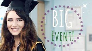 Get Ready With Me: Uni Graduation! Skin, Makeup & Hair (Great For Pictures)