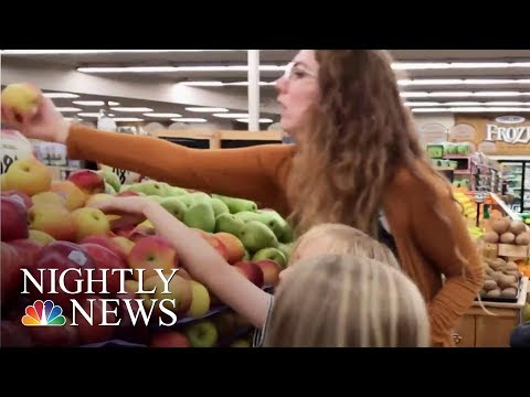 Many American Military Families Struggling With Hunger  NBC Nightly News