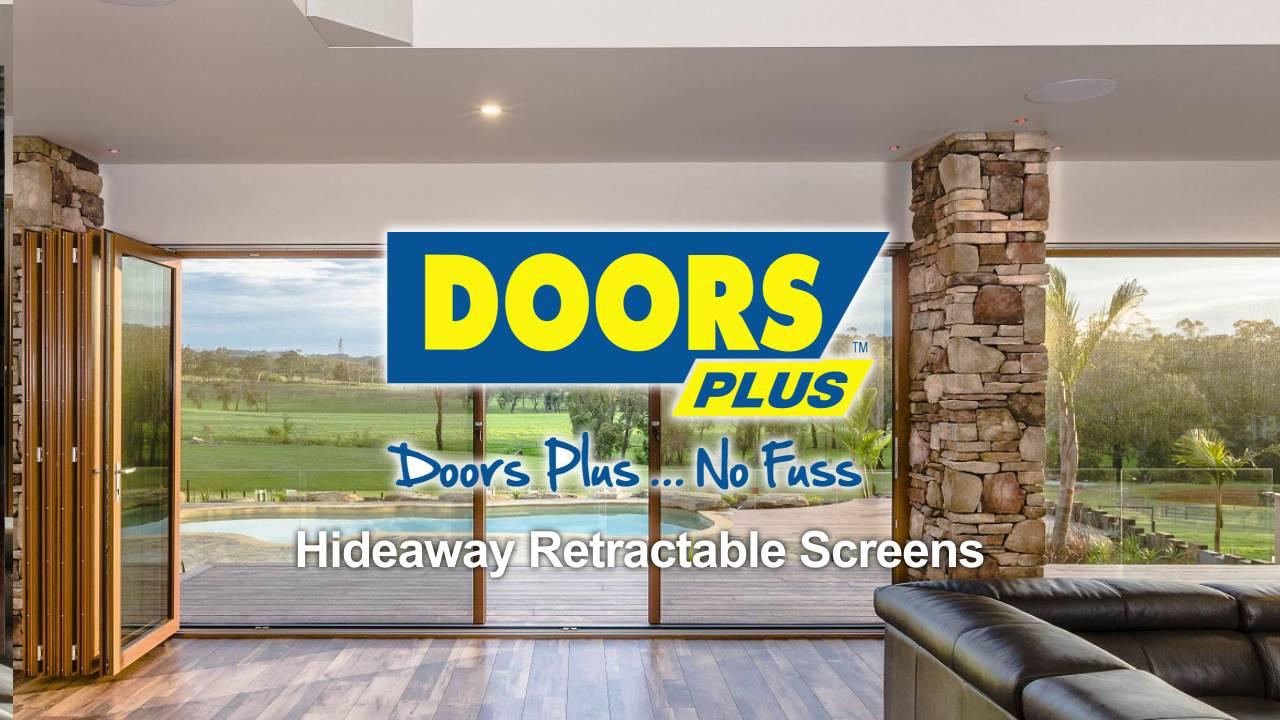 Hideaway Retractable Screen Doors | Doors Plus