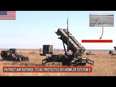 RAYTHEON'S HOWLER COUNTER-UNMANNED AERIAL SYSTEMS WILL PROTECT PATRIOT AIR DEFENSE SYSTEMS