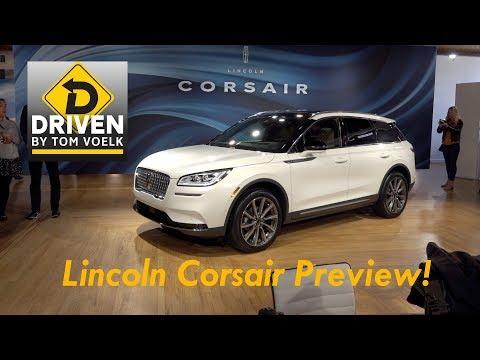 2020 Lincoln Corsair First Look!