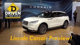 2020 Lincoln Corsair First Look!