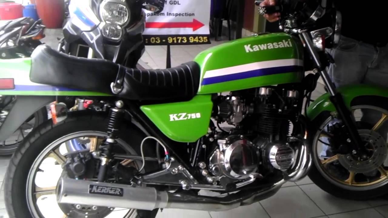 Kawasaki Kz750 Classic Exhaust Sound
