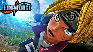 NEW JUMP FORCE BORUTO GAMEPLAY SCREENSHOTS FULL 1080p HD