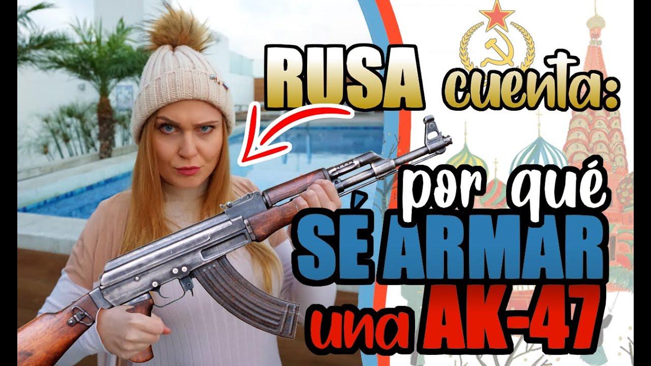 COMO es que SE USAR un AK-47 | PUTIN prepara la GUERRA ?!