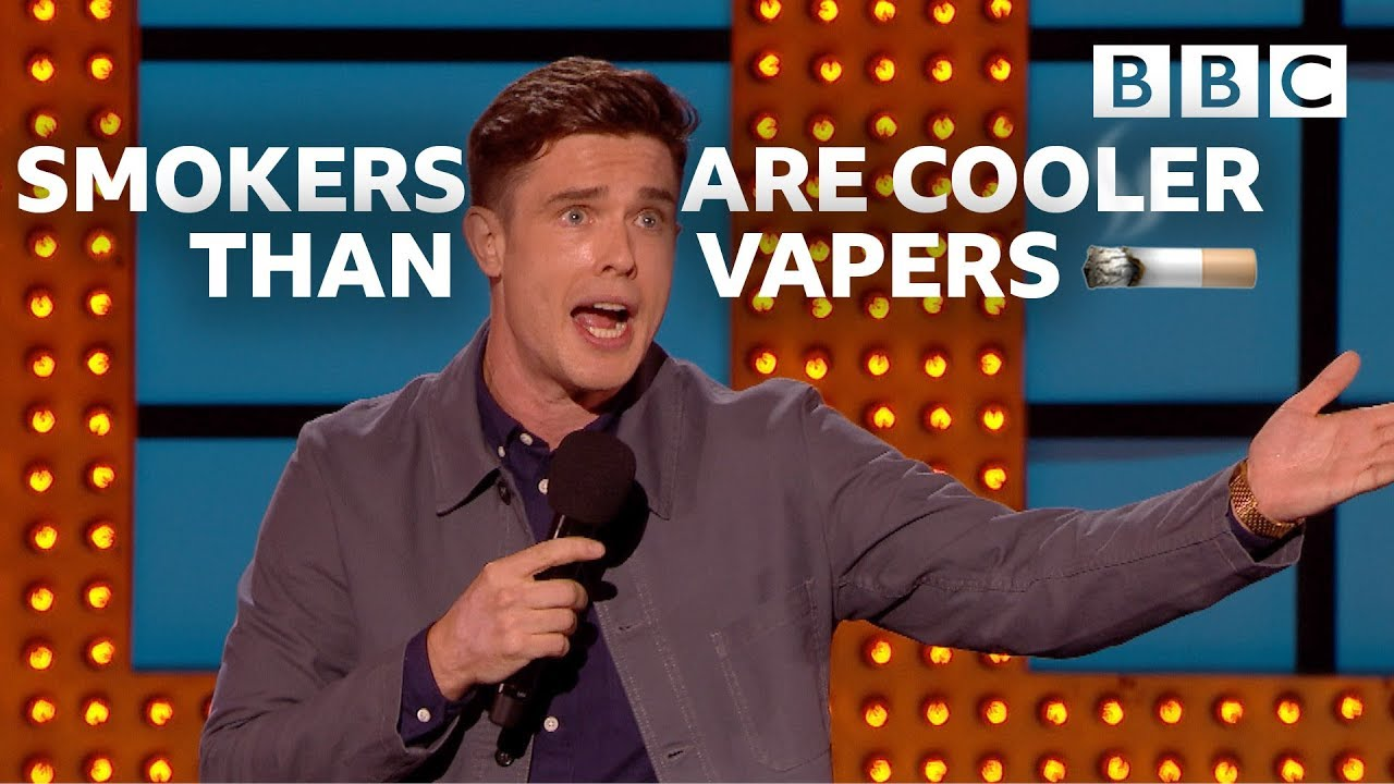 Why vapers are tw*ts | Live At The Apollo - BBC