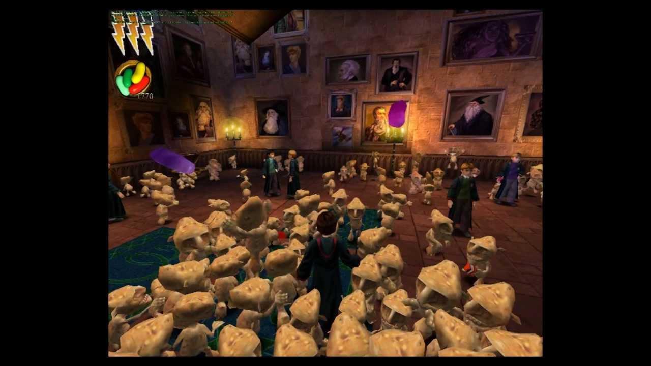Harry Potter Chamber of Secrets game GNOMES HEAVEN - YouTube