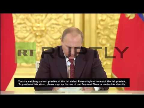 Russia: Putin slams human rights violations in Ukraine