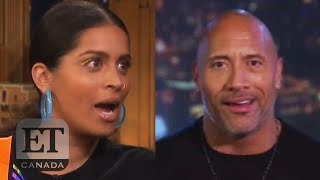 Dwayne Johnson Reacts To Lilly Singh's Late-Night Talk Show