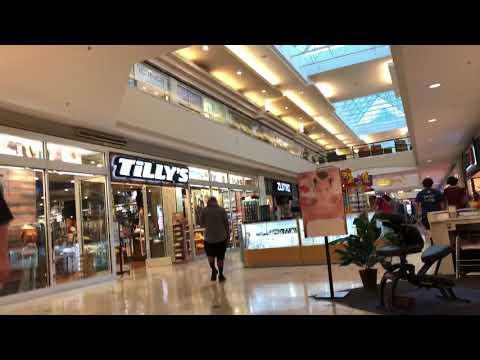 Walking At Woodland Hills Mall In Tulsa, OK