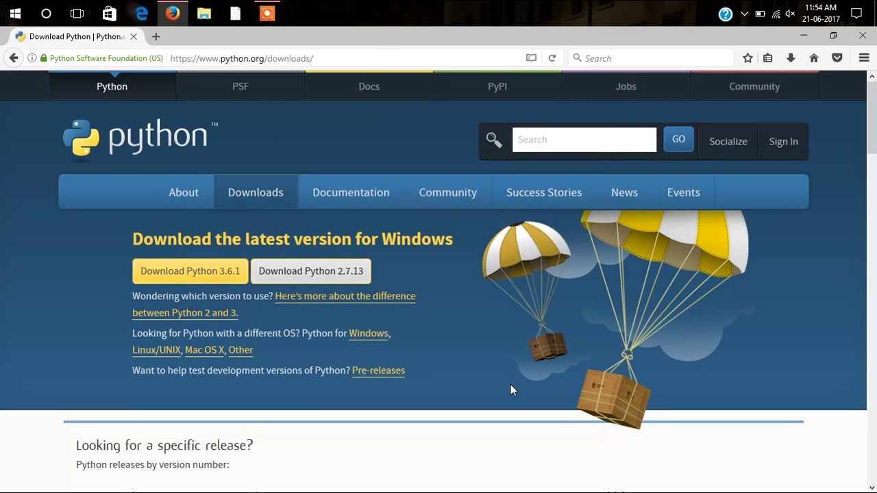 Python 2 7 download for windows 10