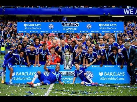 Chelsea FC title celebrations 14 15