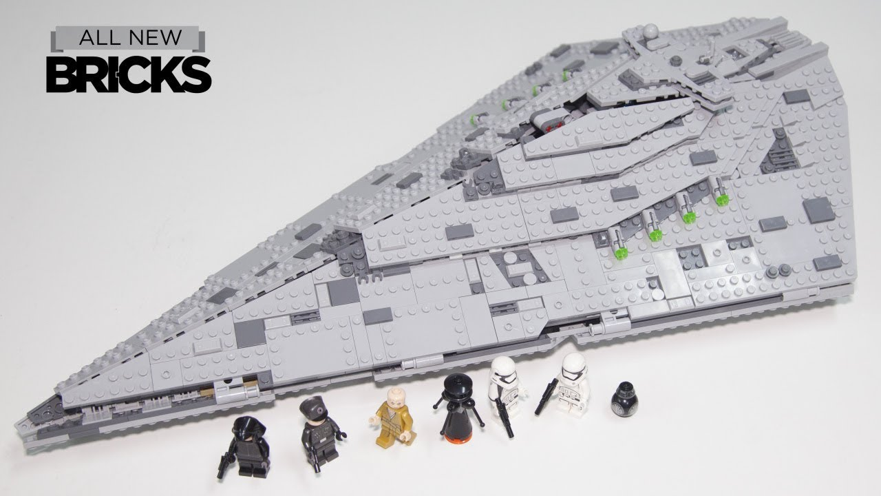 Lego Super Star Destroyer Speed Build