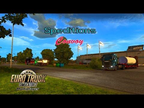 Lange Fahrt Durch Skandinavien - #004 (YouTuber Speditions Convoy) Euro Truck Simulator 2