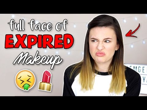 Full Face of EXPIRED Makeup Challenge?!