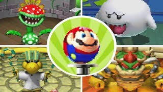 Mario Pinball Land - All Bosses