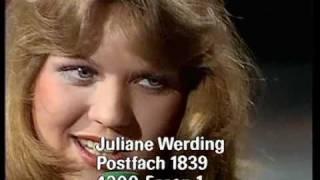 Juliane Werding - Wenn du denkst, du denkst, dann denkst du nur, du denkst