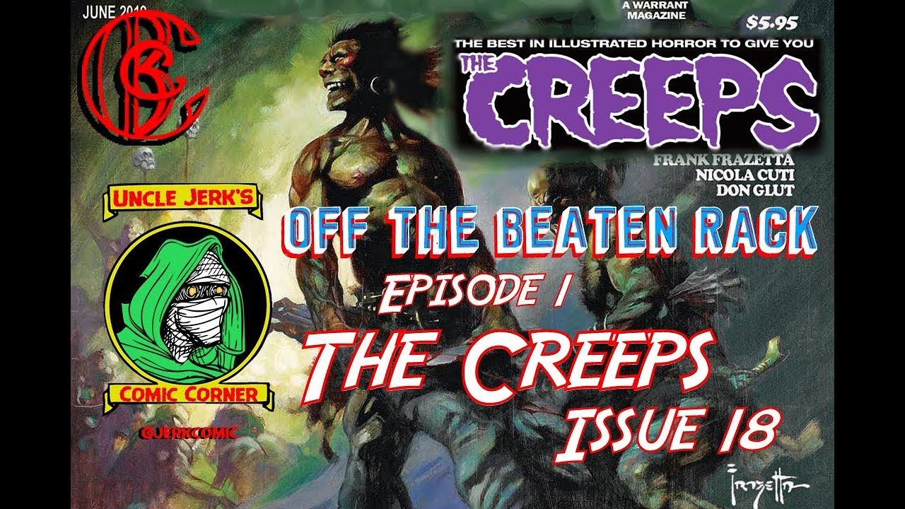 The Creeps #18 (Warrant Pub ) - Anthology Horror Comic Book Magazine  (Eerie, Creepy, EC Comics)
