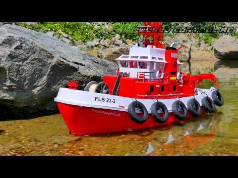 CARSON RC Feuerlöschboot 4K 🔥⚓️🔥