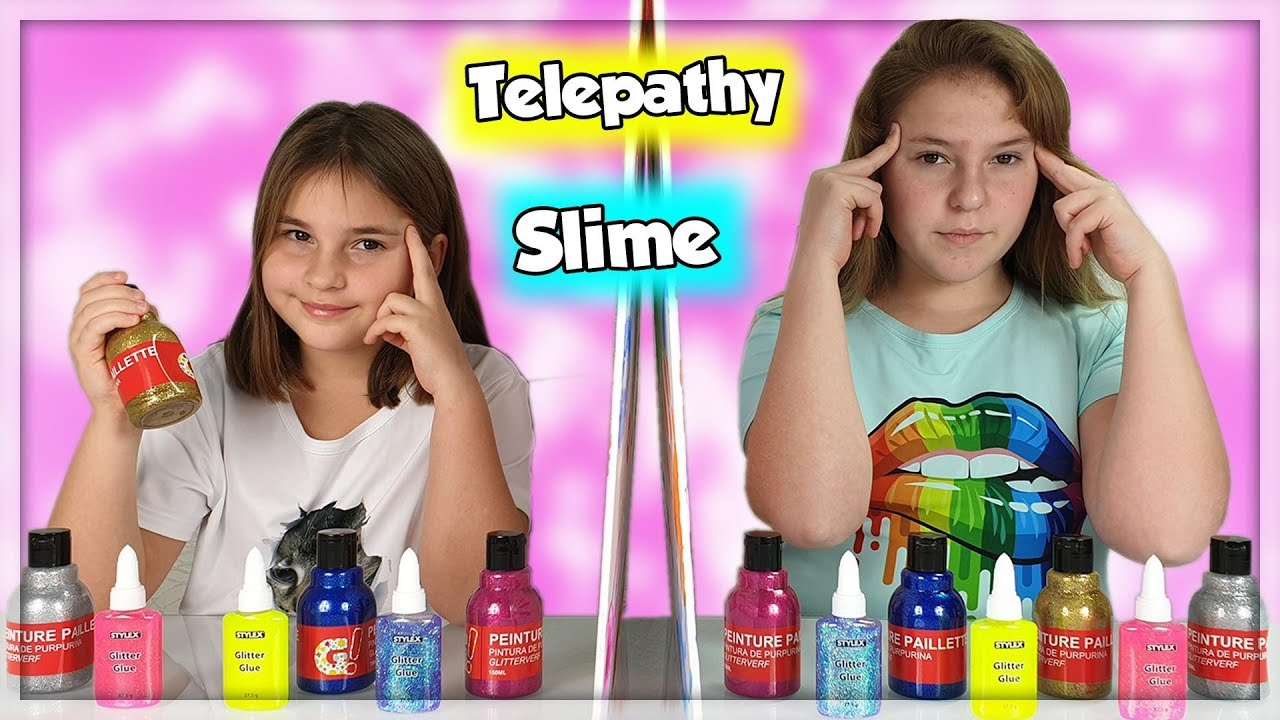 Twin Telepathy Slime Challenge Youtube
