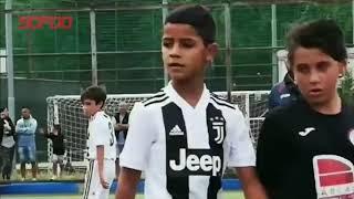 Cristiano Ronaldo JR  Football Plays  Skills, Goals, Freekick & Tricks