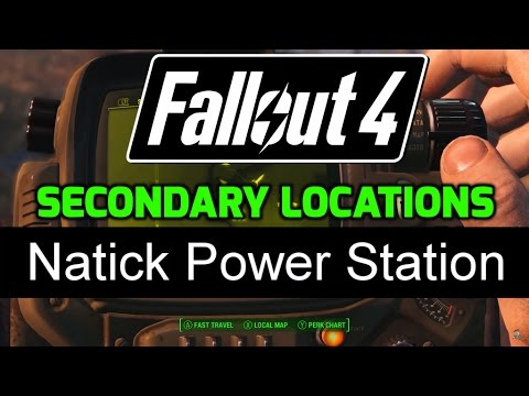 FO4 - Secondary Locations - 5.01 - Natick Power Station ✔️
