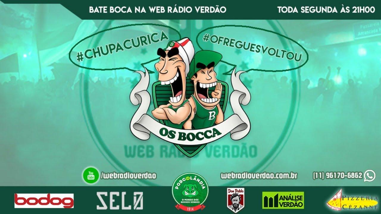 BATE BOCCA NA WEB RÁDIO VERDÃO - CAMPEÃO PAULISTA 2020 - #CHUPACURICA