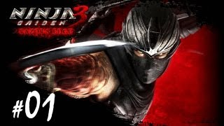 Ninja Gaiden 3 Razor's Edge Español - Parte 1 - DIFICIL - Guia | Walkthrough [Xbox360 | PS3]