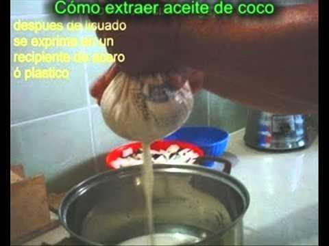 C mo extraer aceite de coco youtube - Como sacar aceite del piso ...