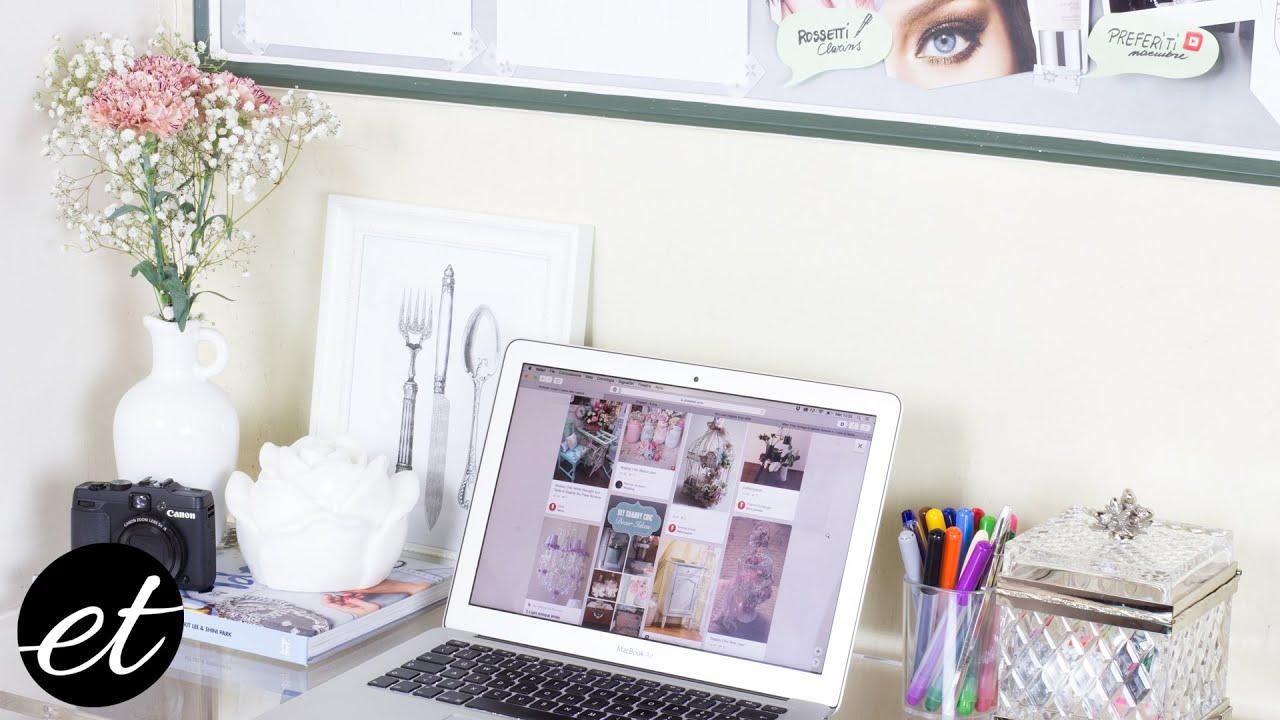 Scrivania Paint Your Life.Organizzazione Della Mia Scrivania Whats On My Desk Elenatee
