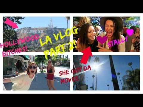 VLOG  OUR TRIP TO LA PART 2