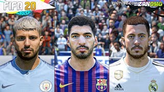 FIFA 20 | 80+ New Players FACES!! | Ft. Hazard, Agüero, Suarez...etc