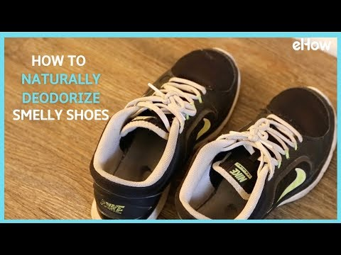 How to Naturally Deodorize Smelly Shoes | DIY IRL