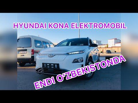 O'zbekistonda birinchi Hyundai Kona Elektromabili
