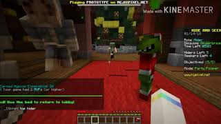 I BECAME A GINGERBREAD MAN! ||Minecraft hide'n'seek with Sam and Ian || The Magnificent Marshmallow