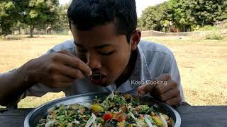 Field Snail Salad Recipe / Cooking Snail with Fresh Vegetable