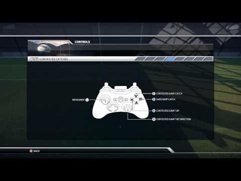 Rugby League Live 3 Controls Youtube