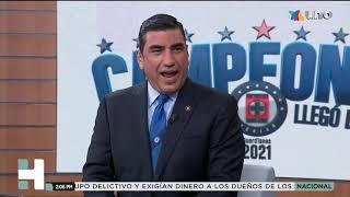 Villalvazo celebra el triunfo del Cruz Azul