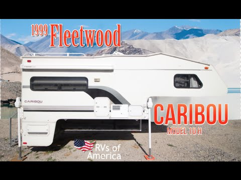 1999 Fleetwood Caribou 10H Extended Cabover